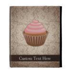 Pink/Brown Cupcake iPad Case