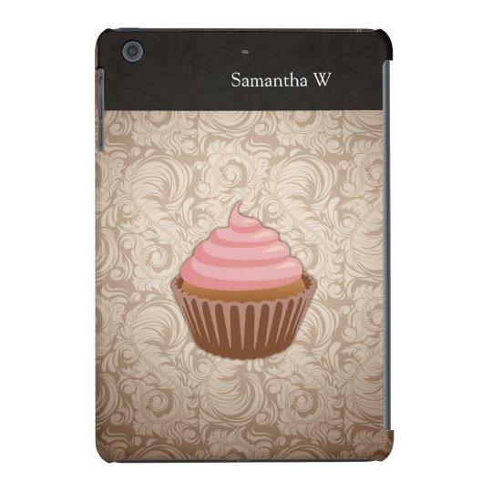 Pink/Brown Cupcake iPad Mini Case