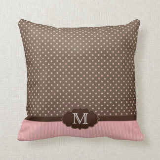 pink and brown pillows pink and brown throw pillows zazzle. Black Bedroom Furniture Sets. Home Design Ideas