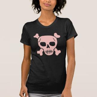 Pink & brown Skull T-shirt