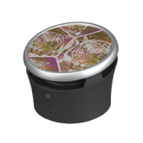 Pink Brown Tiger Collage Bluetooth Speaker