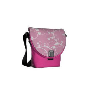 pink brunches messenger bag