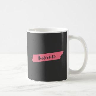 Pink Brush Austenite Coffee Mug