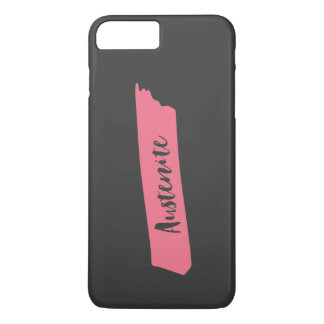 Pink Brush Austenite iPhone 7 Plus Case