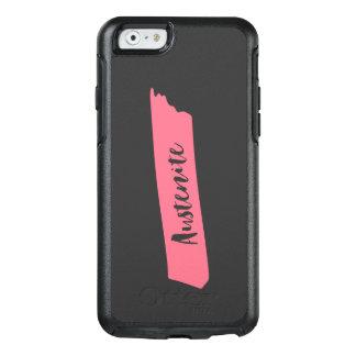 Pink Brush Austenite OtterBox iPhone 6/6s Case