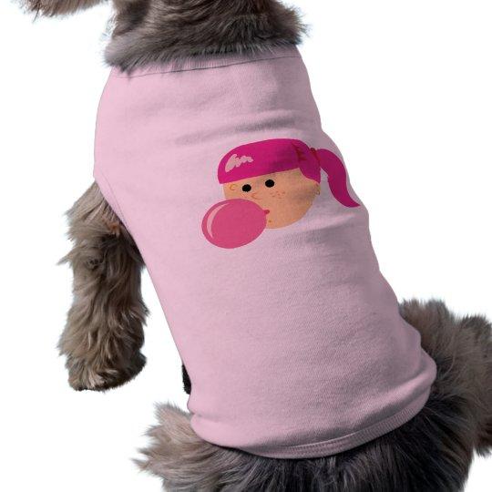Pink Bubble Gum Girl T-Shirt