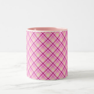 Pink Bubble Gum Two-Tone Coffee Mug