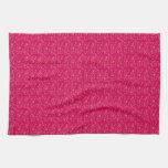 Pink bubble kitchen towel