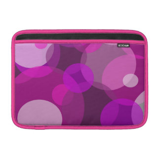 "Pink Bubbles MacBook Air 11"" Cover"