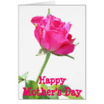 Pink BUD Card for Mother's Day