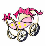 Pink Buggy Cut Outs