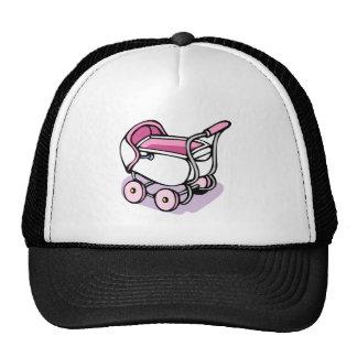 pink buggy trucker hat