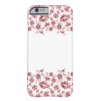 Pink Bunches of Flowers Barely There iPhone 6 Case