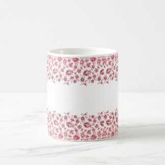 Pink Bunches of Flowers Coffee Mug