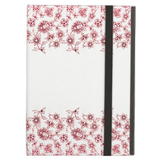 Pink Bunches of Flowers Cover For iPad Air