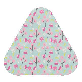 Pink Bunnies and Flowers Bluetooth Speaker