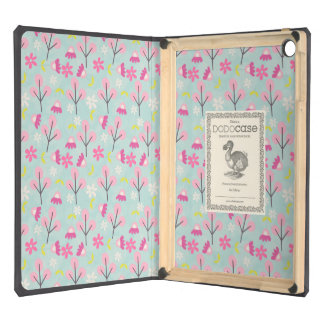 Pink Bunnies and Flowers Cover For iPad Air
