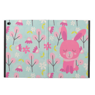 Pink Bunnies and Flowers Powis iPad Air 2 Case