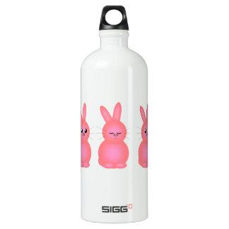 Pink Bunnies Water Bottle