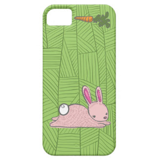 pink bunny 2 iPhone SE/5/5s case