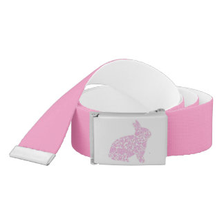 Pink Bunny Belt