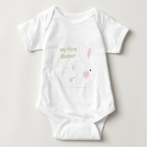 Pink Bunny Kid's Easter Shirts