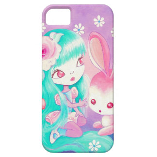Pink Bunny Love (Detail) iPhone SE/5/5s Case