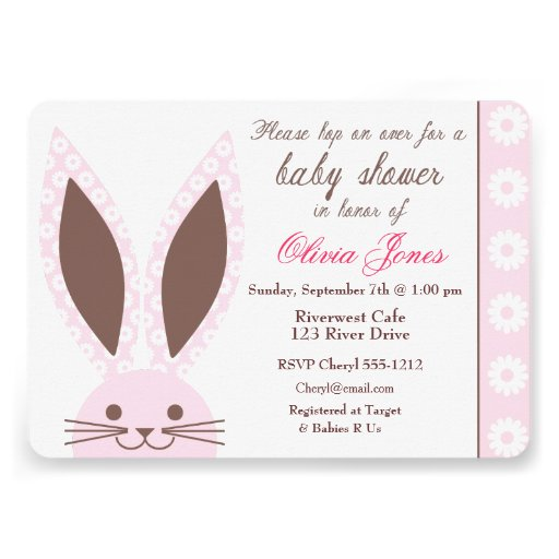 700 bunny baby shower invitations bunny baby shower announcements