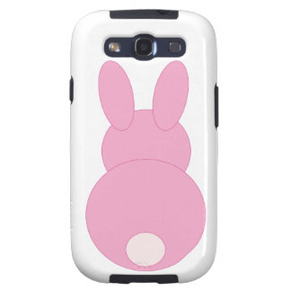 Pink Bunny Rabbit Samsung Galaxy S3 Cover