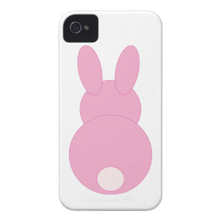 Pink Bunny Rabbit iPhone 4 Case-Mate Cases