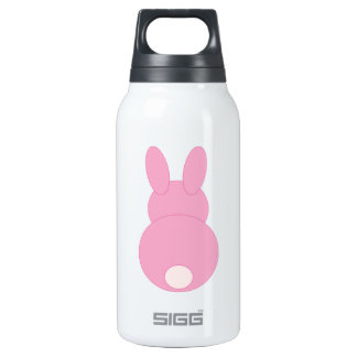 Pink Bunny Rabbit Insulated Water Bottle