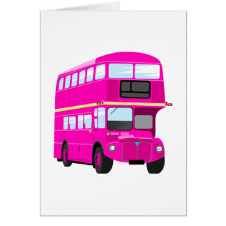 Pink Bus Card