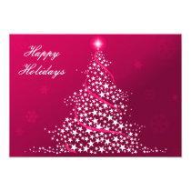 pink Business Holiday Flat cards
