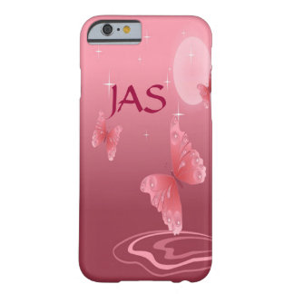 Pink Butterflies Barely There iPhone 6 Case