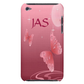Pink Butterflies Barely There iPod Cover