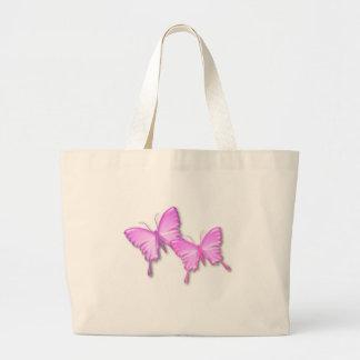 Pink Butterflies Design Bag