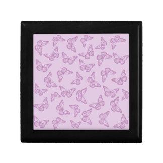 Pink Butterflies Gift Box