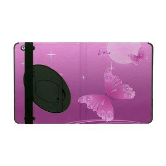 Pink Butterflies iPad Case