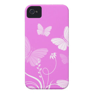 Pink butterflies iPhone 4/4S Case Case-Mate iPhone 4 Case