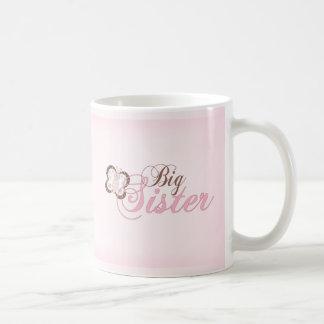 Pink Butterfly 2 Big Sister Mug