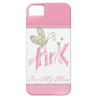 Pink Butterfly Breast Cancer iPhone case iPhone 5 Cases