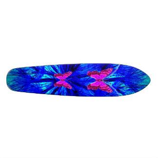 Pink Butterfly Butterflies Skateboard