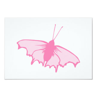 Pink Butterfly. Card
