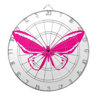 Pink Butterfly Dart Boards