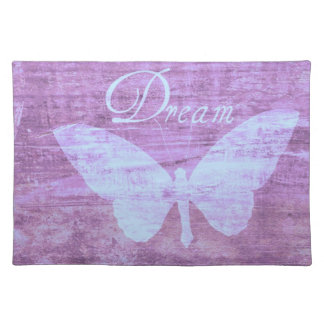 Pink Butterfly Dream Cloth Placemat