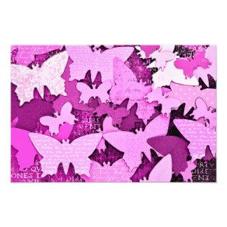 Pink Butterfly Dreams Art Photo
