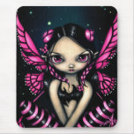 """""""Pink Butterfly Fairy"""" Mousepad"""