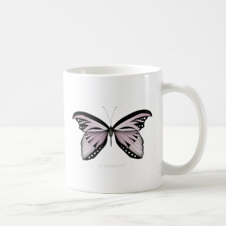 Pink Butterfly Greater Mountain Pink Coffee Mug