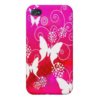 Pink Butterfly IPod Touch case