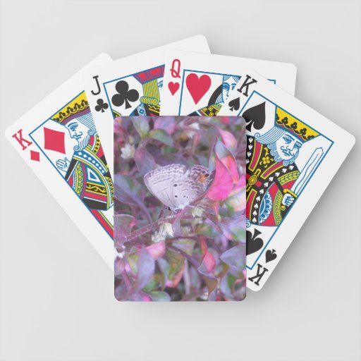 Pink Butterfly Poker Playing Card Bicycle Playing Cards